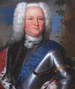 Ernst Casimir zu Ysenburg (1687-1749) versuchte, Gewerbe in Büdingen anzusiedeln. Er warb talentierte Handwerker an. Am Ende half es nichts. Sein Sohn und Nachfolger Gustav Friedrich machte enorme Schulden und ging mit der ganzen Stadt bankrott. Bild: Wikipedia