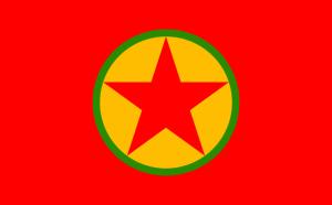 PKK-Flagge