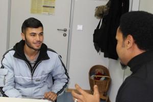der 17jährige Mohamed wil schnell zu seiner Grooßmutter nach Köln