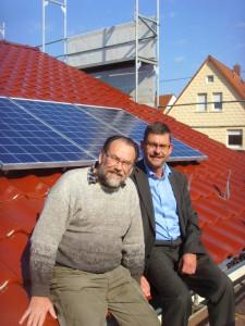 Diethardt Stamm und Carsten Krätschmer