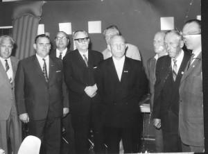 Sportlerehrung Friedberg 29.6.1964, Erich Milius (m.) 001