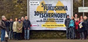 Großplakat Fukushima-Tschernobyl, klein