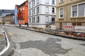 Das Bauprojekt im Ernst-Ludwig-Ring ließ sich nicht mehr verschieben, weshalb der Magistrat wiederkehrende Straßenbeiträge vorgeschlagen hatte. (Bild: Petra Ihm-Fahle)