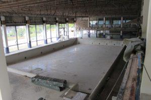 Impression aus der ehemaligen Schwimmhalle der Therme Bad Nauheim. (Foto: Stadt Bad Nauheim)