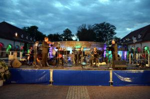 Musikalische Umrahmung bei der Quellendankfeier, hier mit dem Kur-Salonorchester. (Foto: Petra Ihm-Fahle)
