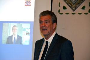 Staatssekretär Dr. Martin Worms ist Kuratoriums-Vorsitzender von der Stiftung Sprudelhof. (Bild: Petra Ihm-Fahle)