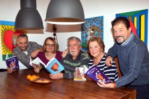 Die Verdichter (von links): Ernesto Filippelli, Petra Ihm-Fahle, Valeri Volkov, Natalie Volkov und Niko Gözüpekli (Bild: Sadet Reichert)