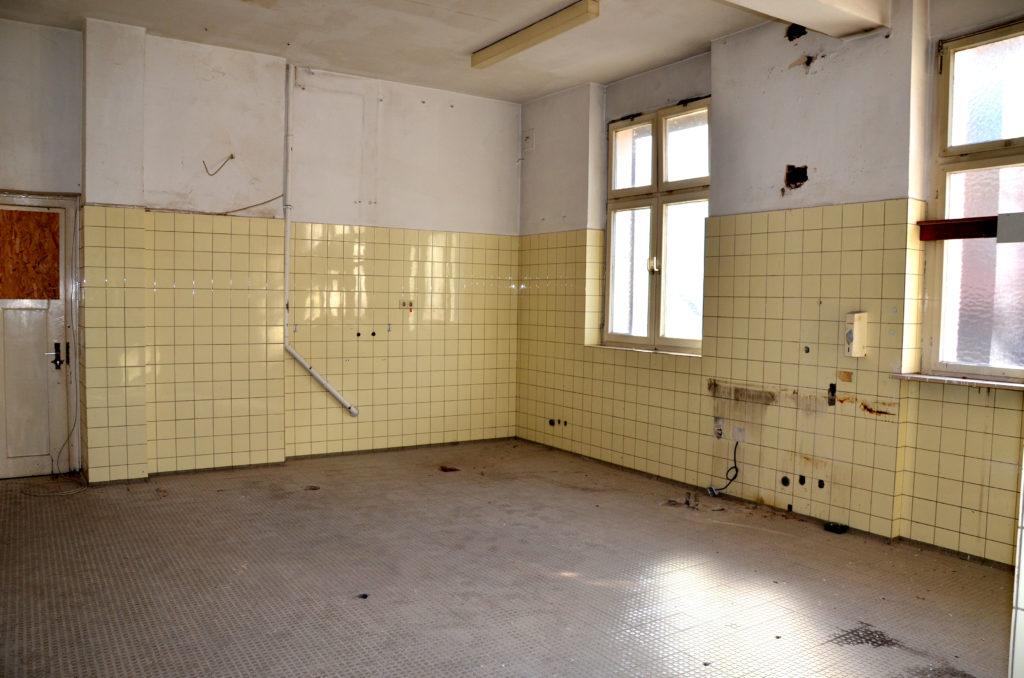 Die ehemalige Küche (Bild: Petra Ihm-Fahle)