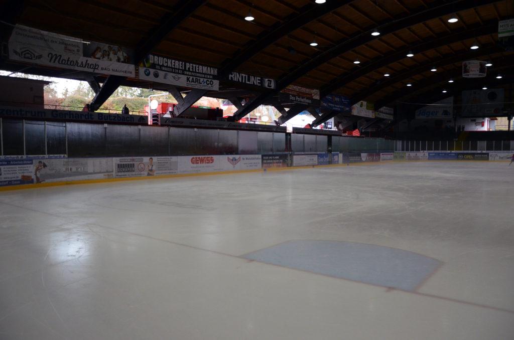 Das Colonel-Knight-Eisstadion. (Bild: Petra Ihm-Fahle)
