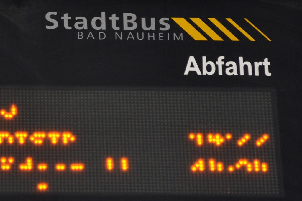 Sich im Parlament rechtzeitig über den Stadtbus Bad Nauheim einig zu werden - dies fordert die Bad Nauheimer SPD. (Petra Ihm-Fahle)