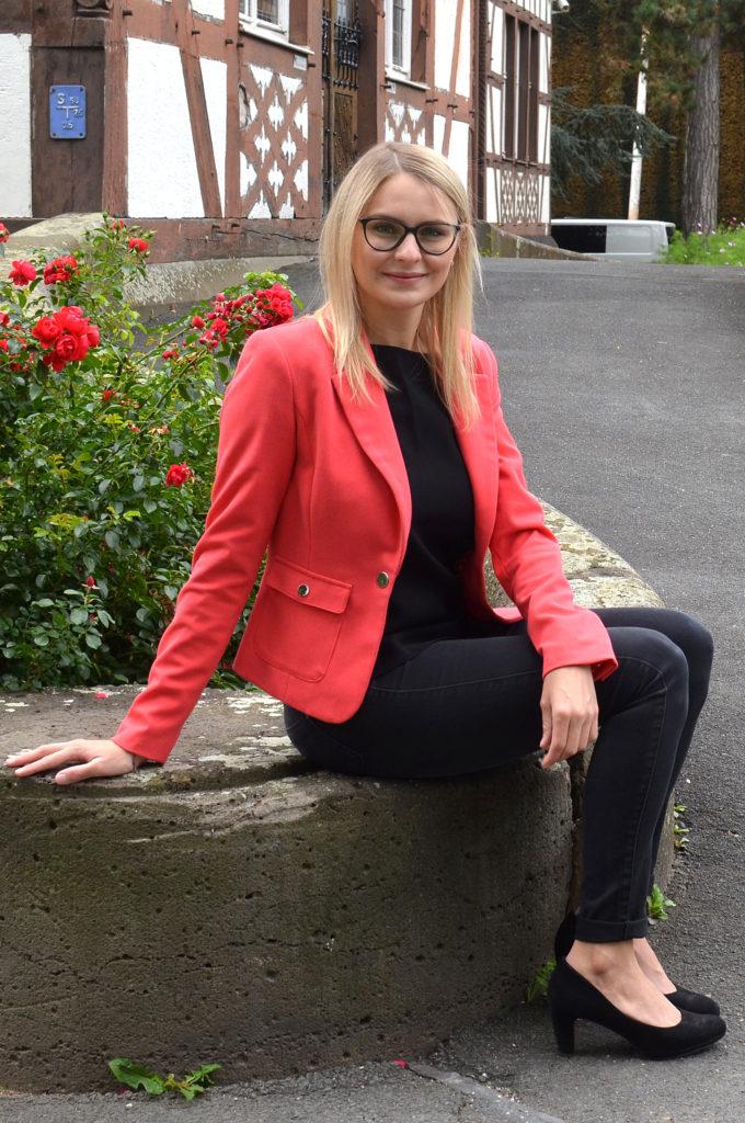 Natalie Pawlik plädiert für mehr Europa in Bad Nauheim. (Bild: Petra Ihm-Fahle)