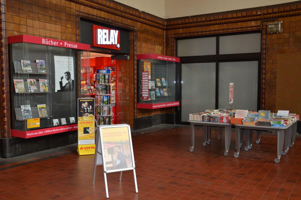 Buchhandlung im Bahnhof (Bild: Petra Ihm-Fahle)