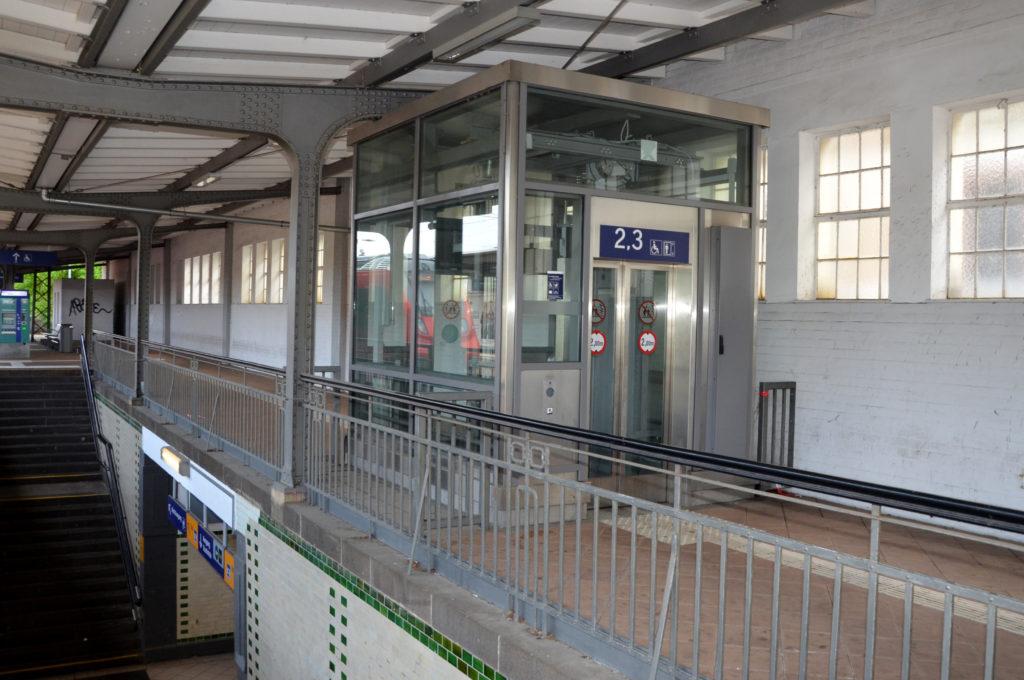 Bereits 2010 baut die Bahn AG Aufzüge ein. (Bild: Petra Ihm-Fahle)