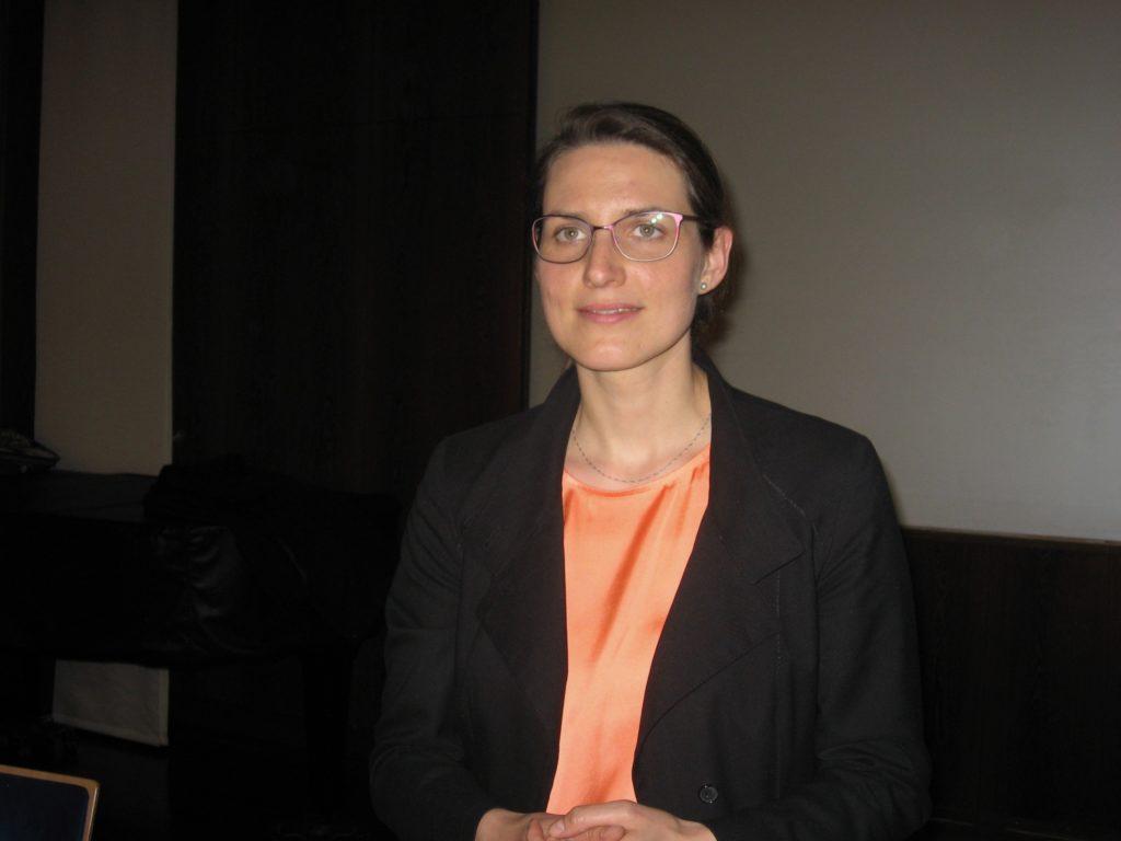 Museumsleiterin Katharina Weick-Joch