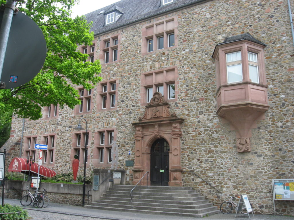 Das Oberhessische Museum am Brandplatz in Gießen. (Fotos: Jörg-Peter Schmidt/privat)