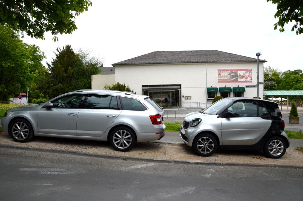 """Die Christdemokraten plädieren dafür, Kleinparkplätze zu schaffen, in die beispielsweise ein """"Smart"""" passt. (Bild: Petra Ihm-Fahle)"""