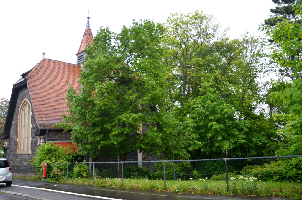 Als Standort für ein Hospiz haben die Beteiligten die Johanneskirche in Bad Nauheim im Auge.  (Bild: Petra Ihm-Fahle)
