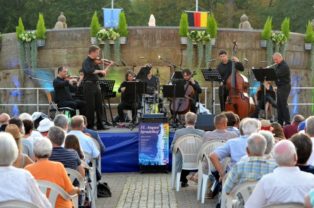 Heilbad-Jubiläum 2019 mit dem Kur-Salonorchester Bad Nauheim. (Bild: Petra Ihm-Fahle)