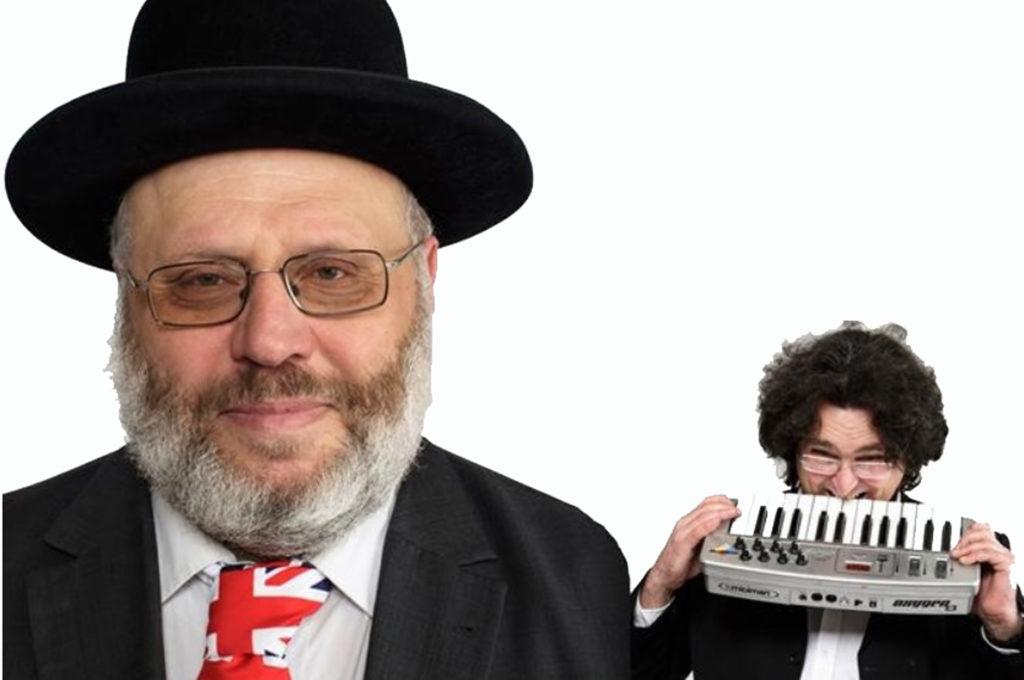 Während der Interkulturellen Wochen steht auch Comedy auf dem Programm. Mit dabei sind Rabbi Rothschild und Max Doehlemann (Bild: pv).