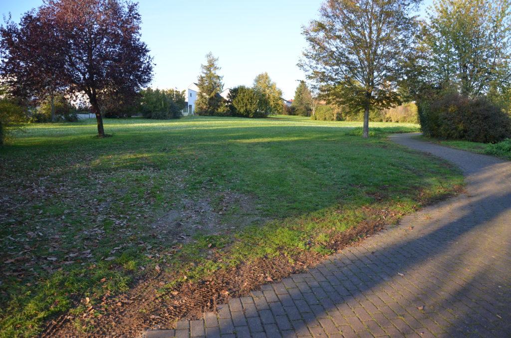 Die Friedhofs-Erweiterungsfläche in Nieder-Mörlen (Bild: Petra Ihm-Fahle)