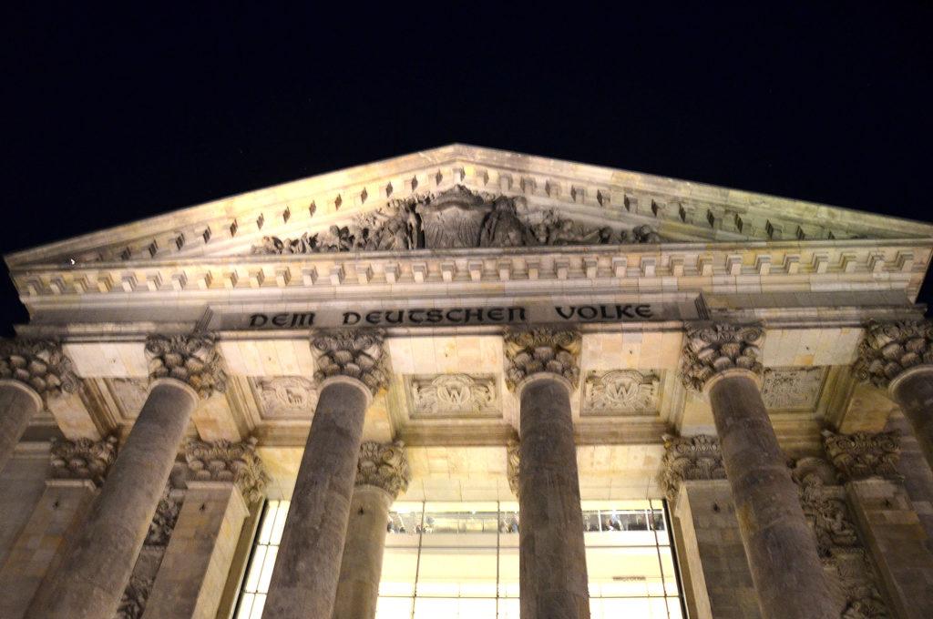 Das Reichstagsgebäude in Berlin. (Bild: Petra Ihm-Fahle)