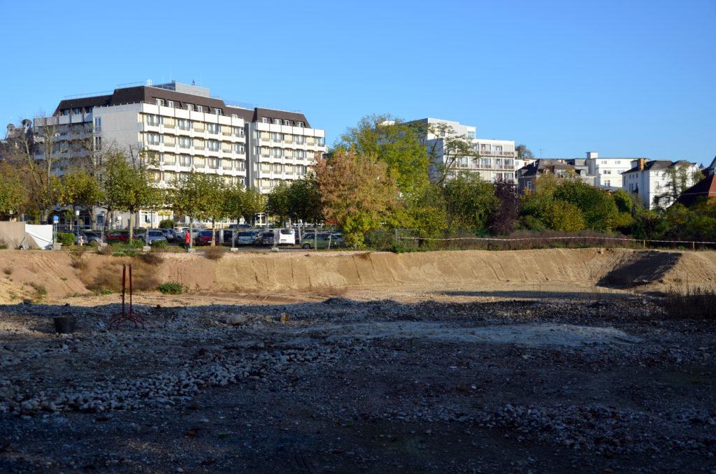 Neben der Therme soll laut dem B-Plan Sprudelhof in dichter Nachbarschaft auch ein Hotel stehen. (Bild: Petra Ihm-Fahle)